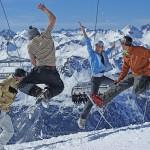 Las mejores estaciones de esquí para grupos