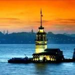 La Torre de Leandro o de la Doncella en Estambul
