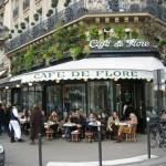 El Café de Flore en París