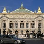 Paseando alrededor de la Ópera de París