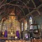 Iglesias medievales en Brujas