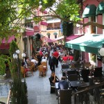 El barrio de Beyoglu en Estambul