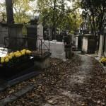 El Cementerio de Pere Lachaise en París