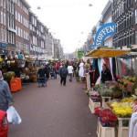 El mercado de Albert Cuyp en Amsterdam