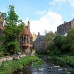 Dean Village, la Escocia medieval
