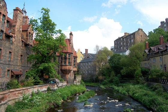 dean village la escocia medieval euroescapadas