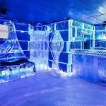 Conozca el bar de hielo en Barcelona