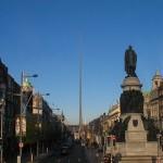 Pasear por O'Connell Street en Dublín