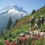 Senderismo inovidable en Mont Blanc