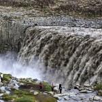 Maravillosas cascadas en Islandia : Dettifoss