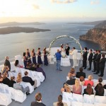 Mejores destinos para una boda en Grecia : Santorini