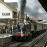 Paseos en trenes de vapor en Inglaterra