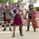 Escuela de gladiadores en Roma