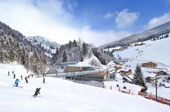 estacion de esqui Dienten
