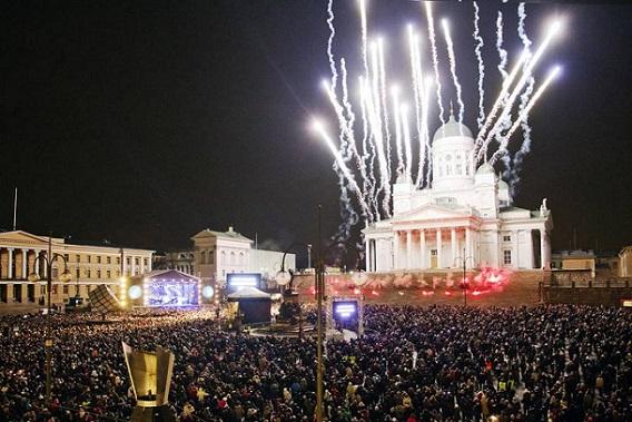 fin de año Helsinki