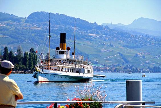 cruceros Lago Ginebra