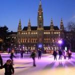 Patinaje sobre hielo en Viena