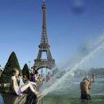 Uno de los mejores lugares para ver la Torre Eiffel : Plaza del Trocadero