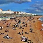 Las playas de Brighton para las mejores vacaciones de verano