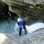 Deportes de aventura en Italia : barranquismo en el Lago de Garda
