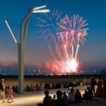 Festival de fuegos artificiales en La Haya